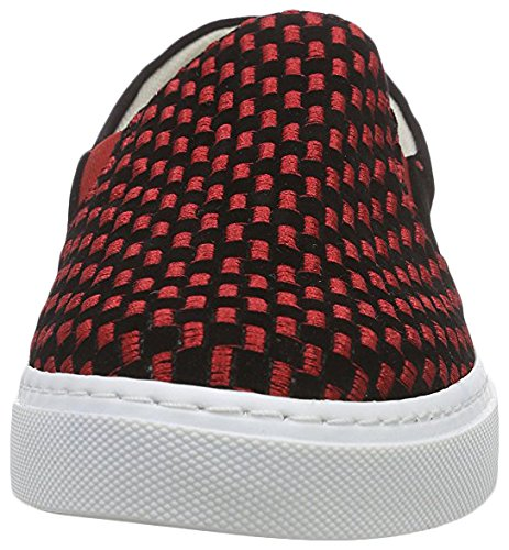 Femme pour Noir Neefs 39 Printed Noir Shoes Mocassins Rouge nzxzIPBqU