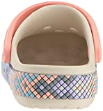 Crocband Gallery Clog K Stucco/Melon, 9 M US