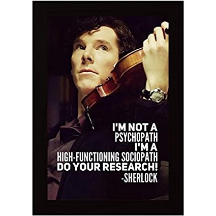 Image result for corporations sociopath sherlock holmes