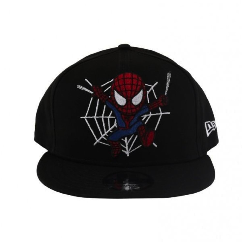 official photos 0aac6 29cf1 Tokidoki Marvel Spider-Man Web Jump New Era 9Fifty Snapback Cap   Amazon.co.uk  Clothing
