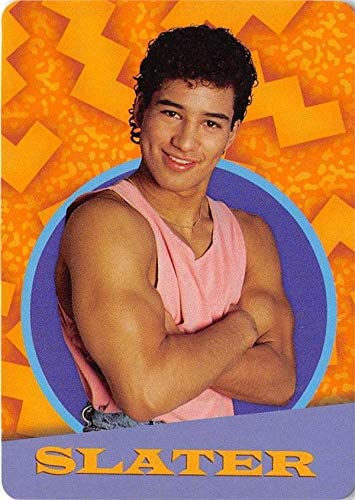 Mario Lopez Ac Slater Saved By The Bell Trading Card 2017 Nbc