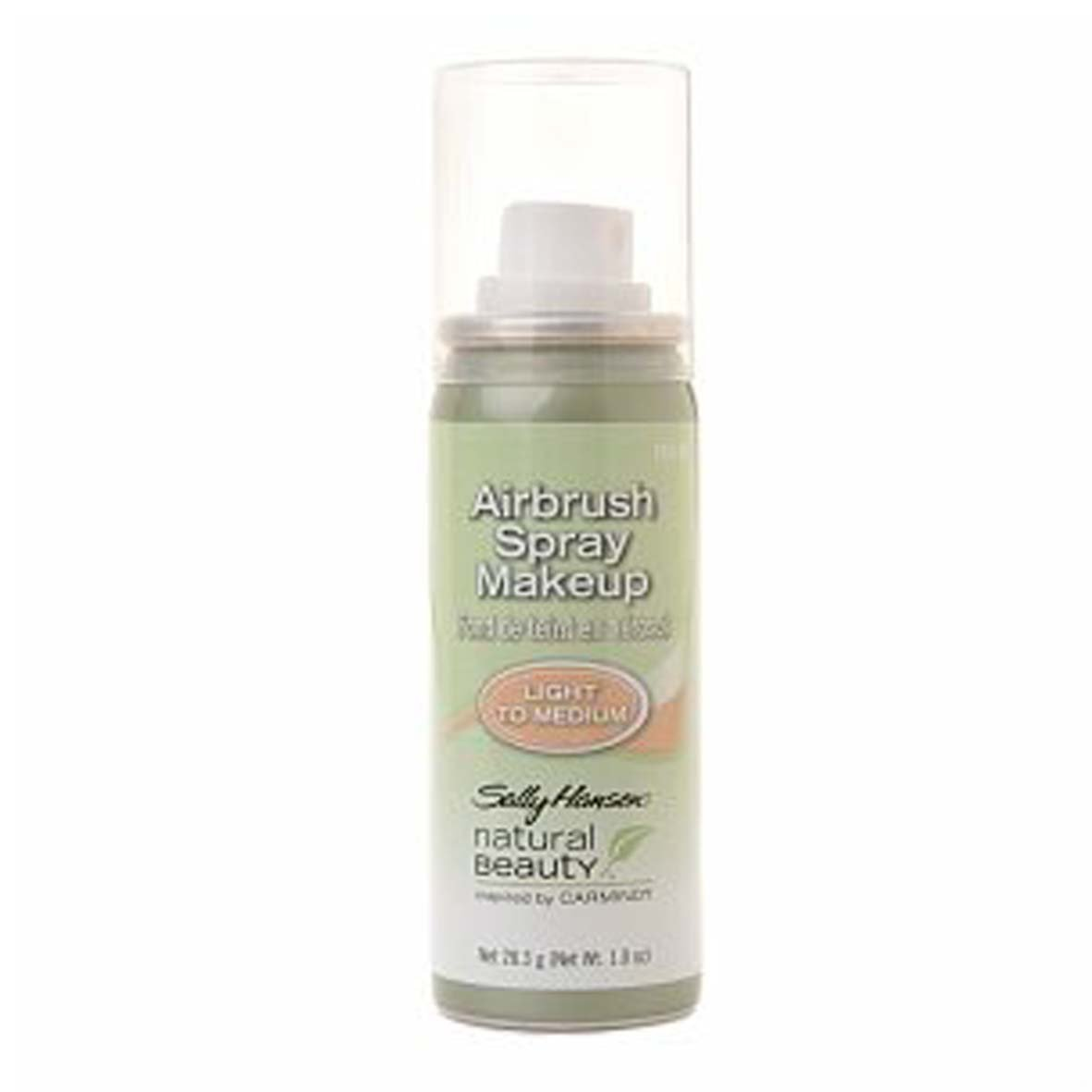 Amazon sally hansen natural beauty airbrush spray makeup amazon sally hansen natural beauty airbrush spray makeup light to medium inspired by carmindy discontinued shade foundation makeup beauty baditri Choice Image