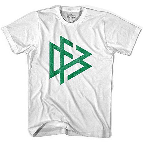 Ultras Germany Federation Soccer T-shirt, White, Adult Medium