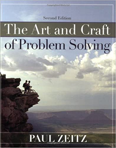 Book [ The Art and Craft of Problem Solving ] By Zeitz, Paul ( Author ) [ 2006 ) [ ]