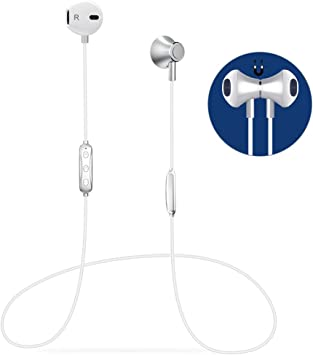 Auricular Bluetooth V4.1 Magnético Auriculares Deportivos con ...