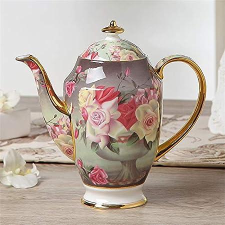 Olla de té de Porcelana China Antigua con infusor Cafetera ...