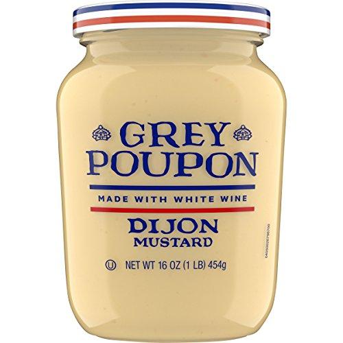 Grey Poupon Dijon Mustard, 16 ounce Jar -