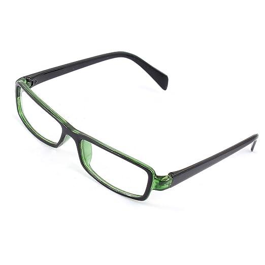 Amazon.com: uxcell Plastic Full Rectangle Frame Lens Plain ...