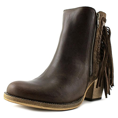 Dingo Women's Izzy Booties Round Toe Brown 7.5 M