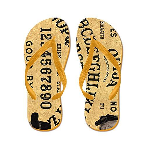 Cafepress Ouija16x20_print - Flip Flops, Roliga Rem Sandaler, Strand Sandaler Apelsin