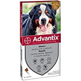 advantix Spot on Cani antiparassitario Cane 4 tubetti 6,0ml, Unica
