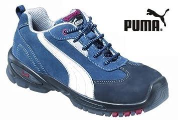 PUMA Sicherheitsschuh 64068 36 S1P blauweiß: