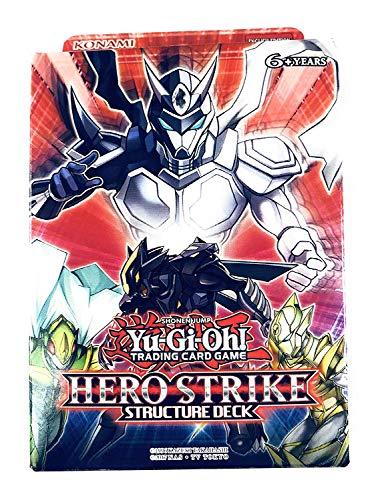 Yu-Gi-Oh HERO Strike Structure Deck [Sealed Deck] (Konami) (Yugioh Hero Strike Elite Box Structure Deck)