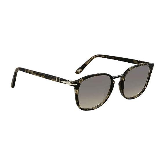 Persol Men s 0Po3186S 106332 51 Sunglasses, Black Grey  Amazon.co.uk ... 1ba9f07d916f