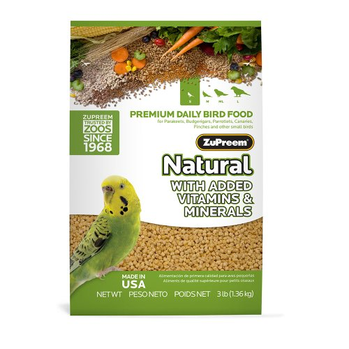 ZuPreem Natural Diet Parakeet 2 25lb product image