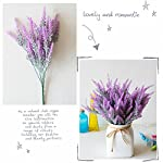 CATTREE-Artificial-Lavender-Plastic-Plants-Fake-Flowers-Bouquet-Home-Bridal-Wedding-Office-Party-Garden-Balcony-Indoor-Outdoor-DIY-Centerpieces-Arrangements-Simulation-Craft-Decoration-Rose-Red-4pcs