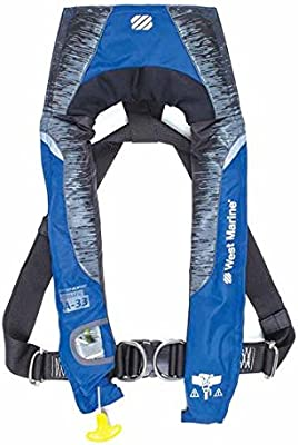Amazon.com : Toledano industries Offshore Automatic Inflatable Life Jacket  with Harness : Sports & OutdoorsAmazon.com