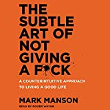 by Mark Manson (Author), Roger Wayne (Narrator), HarperAudio (Publisher) (4194)  Buy new: $23.95$22.95