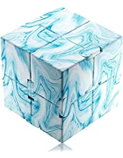 Infinity Cube Fidget Toy Hand Killing Time Prime Infinite Cube for ADD, ADHD, Anxiety, and Autism Adult and Children Texture
