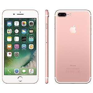 """IPhone 7 Apple Plus com 32GB, Tela Retina HD de 5,5"""", iOS 10, Dupla Câmera Traseira - Ouro Rosa"""