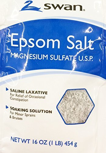 16oz Swan Epson Salt (Pack of 3)