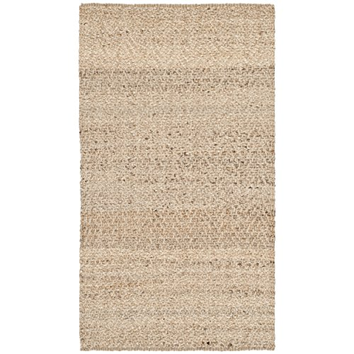Hand Woven Jute Natural Rug (Safavieh Natural Fiber Collection NF731A Hand Woven Natural Jute Area Rug (2' x 3'))