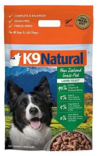 K9 Natural Freeze Dried Dog Food Lamb 4lb