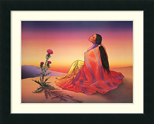 Dawn Framed Art - Framed Art Print 'Navajo Dawn' by R. C. Gorman