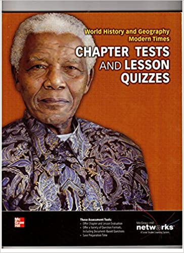 Chapter Tests And Lesson Quizzes World History And Geography Modern