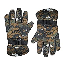 New Vastra Lok Warm Snow and Wind Proof Winter Gloves for Men Protective Warm Hand Riding, Cycling, Bike Motorcycle…