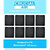 8-Pack High Efficiency Kenmore 295 Series Carbon Pre-Filter