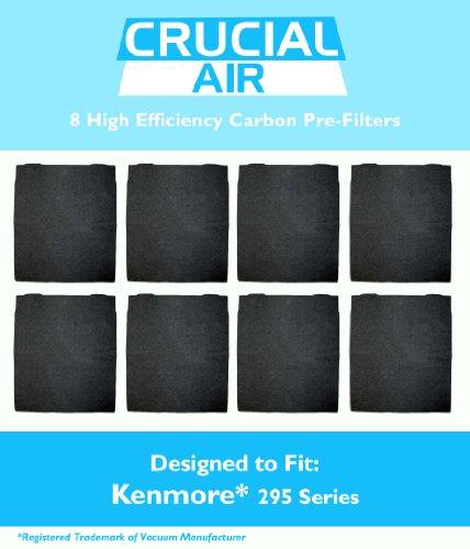 8-Pack High Efficiency Kenmore 295 Series Carbon Pre-Filter