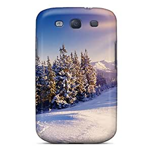 For Galaxy Cases, High Quality Snow Sun For Galaxy S3 Covers Cases