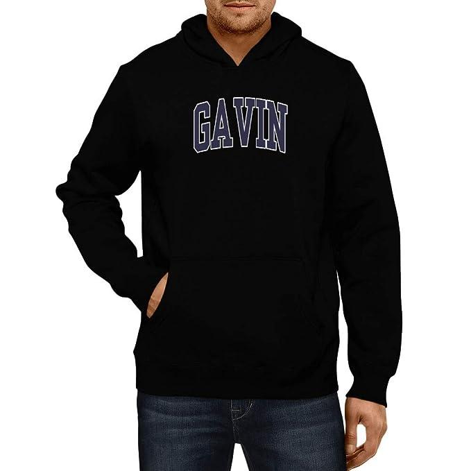 Amazon com: Idakoos Embroidery Gavin - Male Names - Hoodie