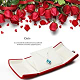 Oirlv Red Jewelry Gift Box Pendant Storage Boxes - Best Reviews Guide