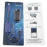 Ecusells Original KEYDIY Mini KD Remote Key Generator Remotes Support Android Mini KD Auto Key Programming +B01-3-Luxury Black