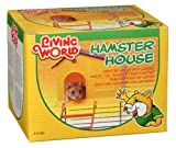 Living World Hamster House, with Step Ladder, My Pet Supplies