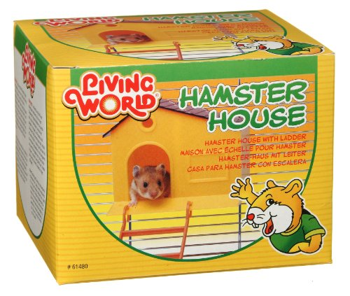 Hagen Cage Hamster (Living World Hamster House, with Step Ladder)