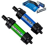 Search : SAWYER Products SP2101 Mini Water Filtration System, 2-Pack, Blue and Green