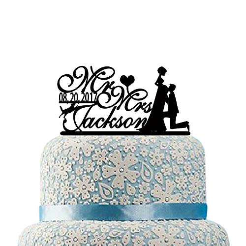 Groom Kiss Pregnant Bride Cake Topper for Wedding Custom Wedding Cake Topper Wedding Party Decorations Cake