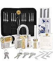 Household 30 Pieces Handle Pick To0ls Set with Tool Handbag, (3pcs) Lock Professional Repair H0me Improvement Tool Set