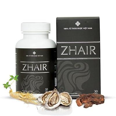 01 Box*30 viên Thá»±c Phẩm Bảo Vệ Sức Khỏe ZHair Help For Hiar Strong, Enhances The Health Of The Hair- 100% Nature