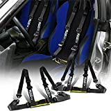 RASTP 4 Point Racing Safety Harness Set with