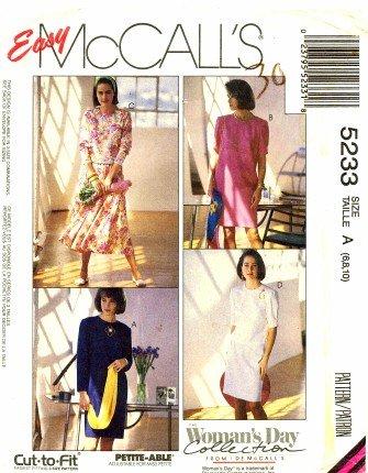 Amazon Mccalls 5233 Sewing Pattern Chemise Dress Top Skirt