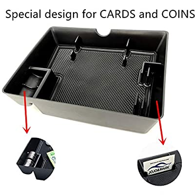 JOJOMARK for Ford F150 Expedition Accessories Dash Center Console Table Storage Tray for Ford F150 (2015-2020) and Ford Expedition (2020-2020): Automotive