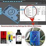IFUN 3D Resin 405nm HiTemp for LCD DLP Printer