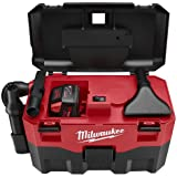 Milwaukee 0880 20 18V Cordless Lithium Ion 2 Gallon Wet/Dry Vacuum (Bare Tool)