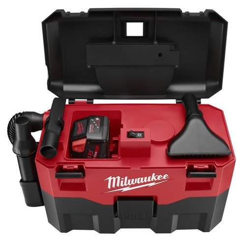Milwaukee 0880-20 18V Cordless Lithium-Ion 2 Gallon Wet/Dry Vacuum (Bare Tool) ()