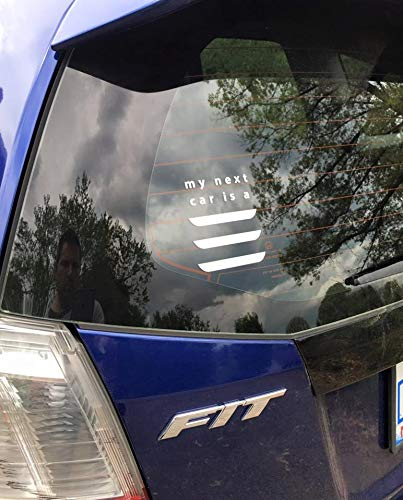 Amazoncom Celycasy My Next Car Is A Tesla Model 3 Vinyl