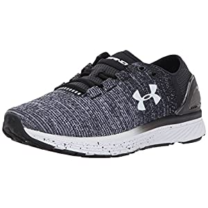 Under Armour Women's Charged Bandit 3, Black/White/White, 9 B(M) US